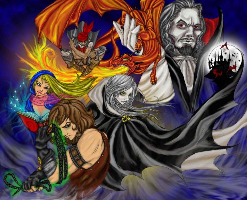 Castlevania fantasy   f wallpaper