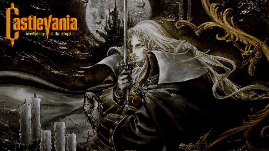 Castlevania fantasy warrior e wallpaper
