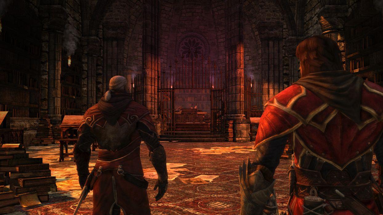 Castlevania fantasy warrior   b wallpaper