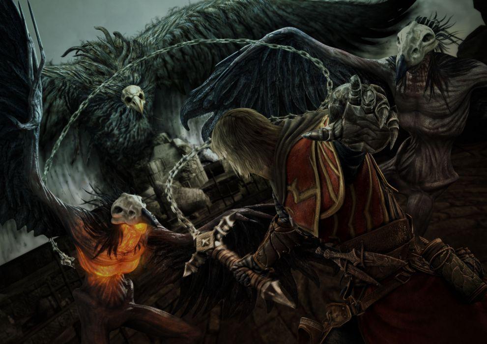 Castlevania fantasy warrior   fa wallpaper