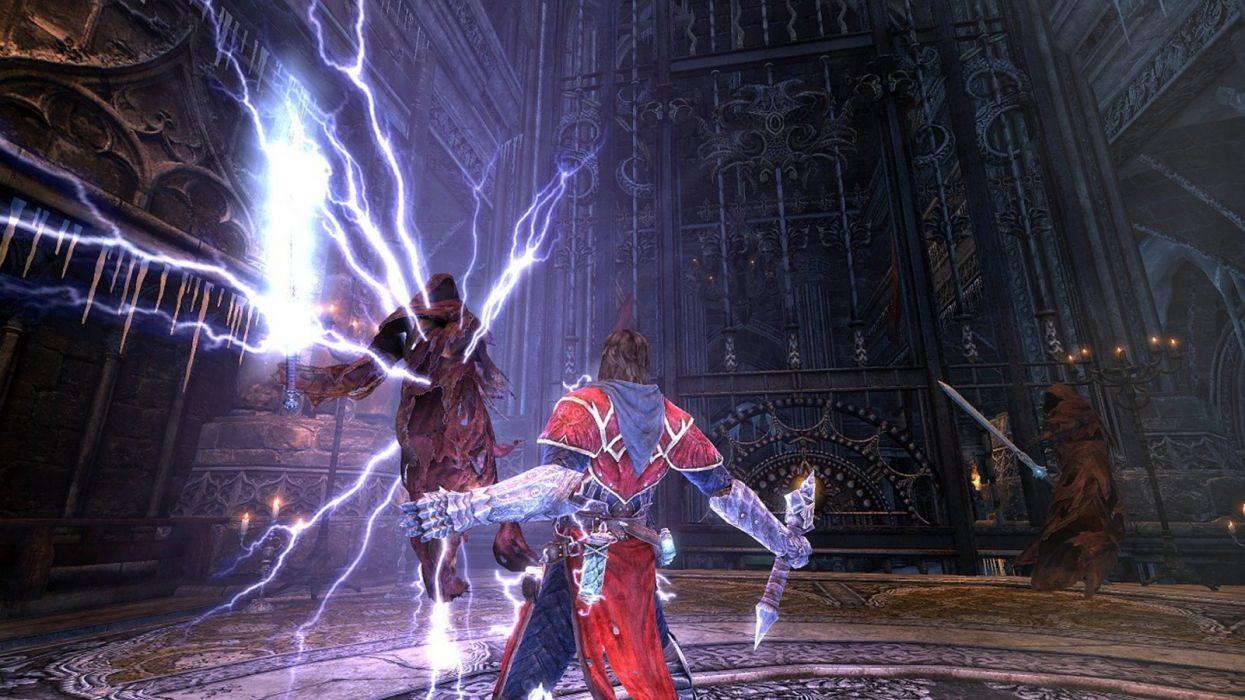 Castlevania fantasy warrior  f wallpaper
