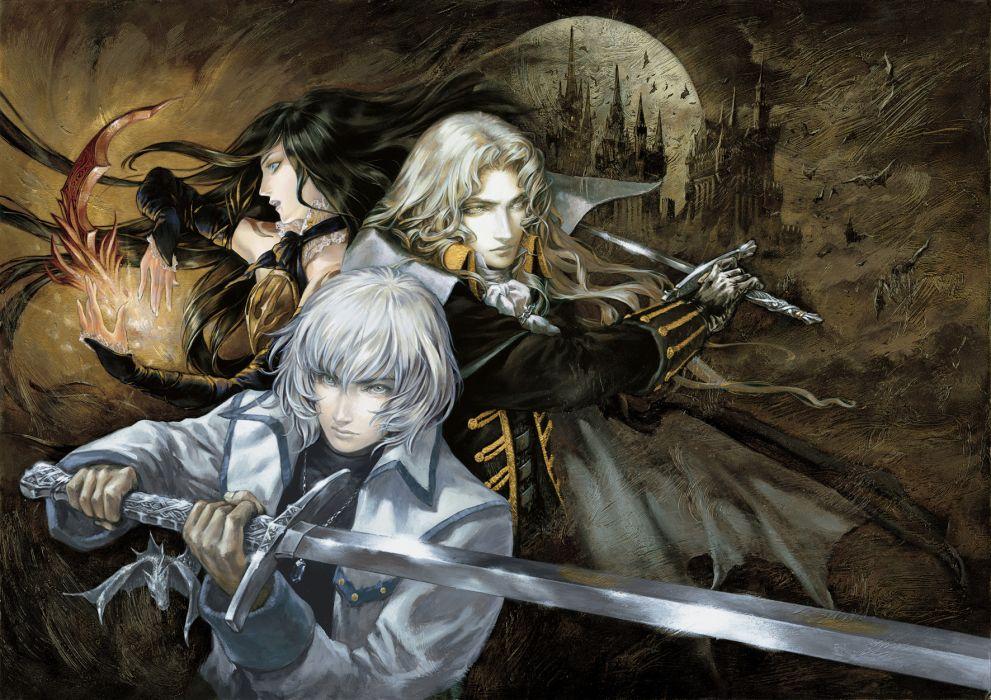 Castlevania fantasy warrior  fd wallpaper
