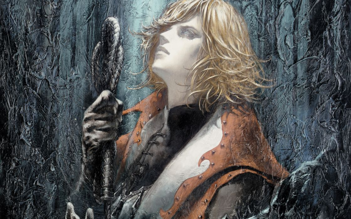 Castlevania fantasy warrior  fw wallpaper
