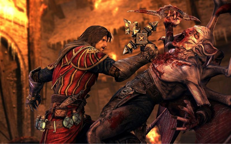 Castlevania fantasy warrior battle f wallpaper