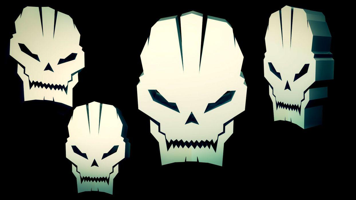 Call of Duty dark skull         g wallpaper
