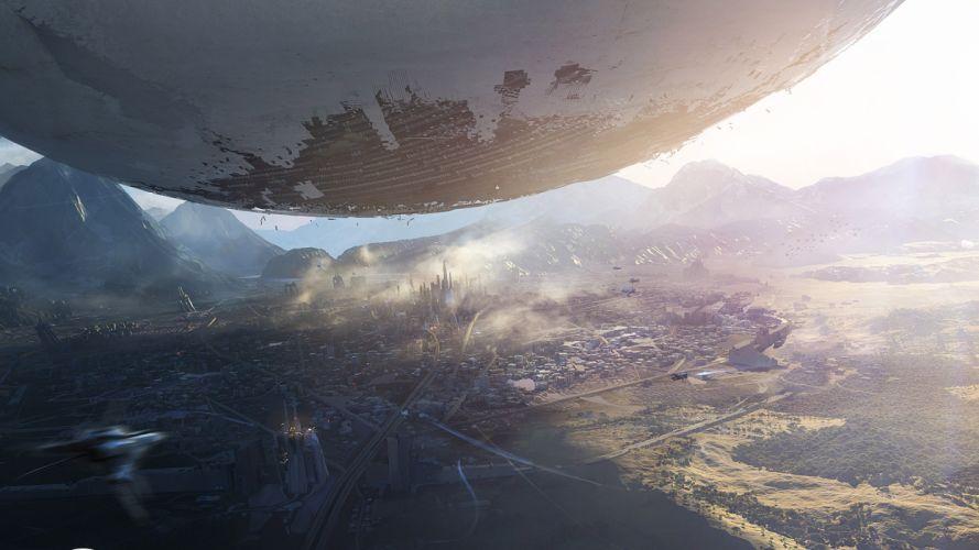 DESTINY sci-fi apocalyptic g wallpaper