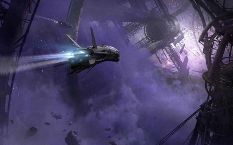 DESTINY sci-fi spaceship gw wallpaper