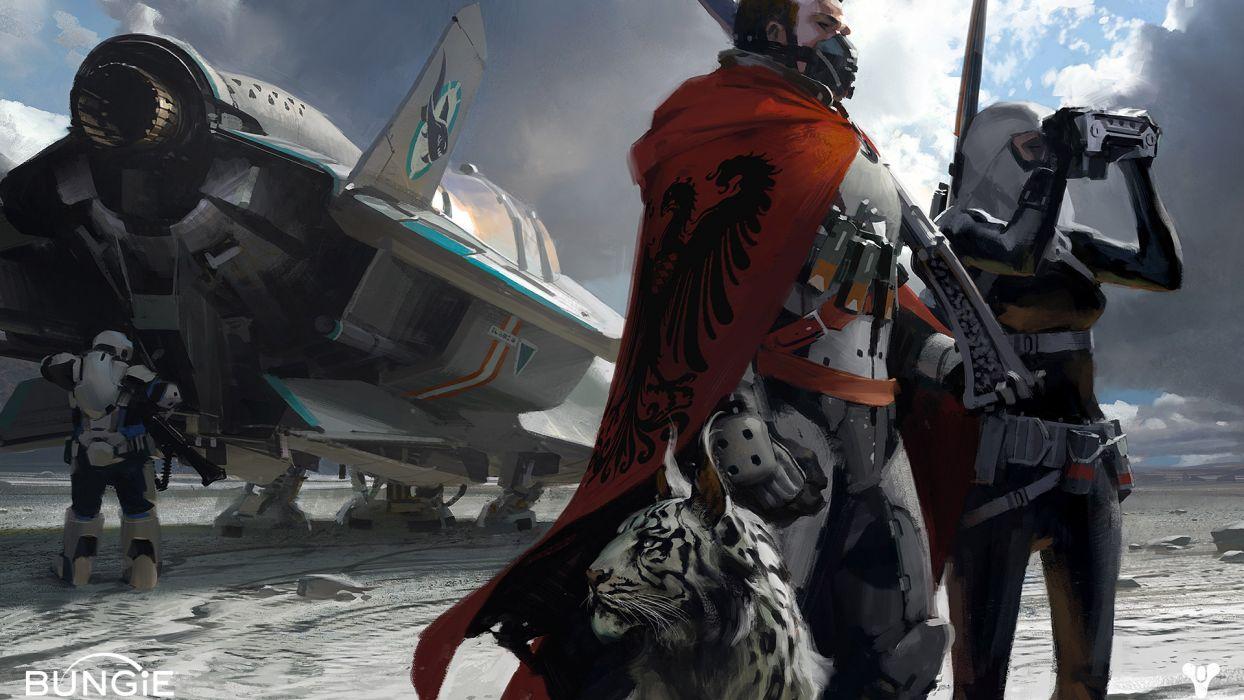 DESTINY sci-fi warrior      g wallpaper