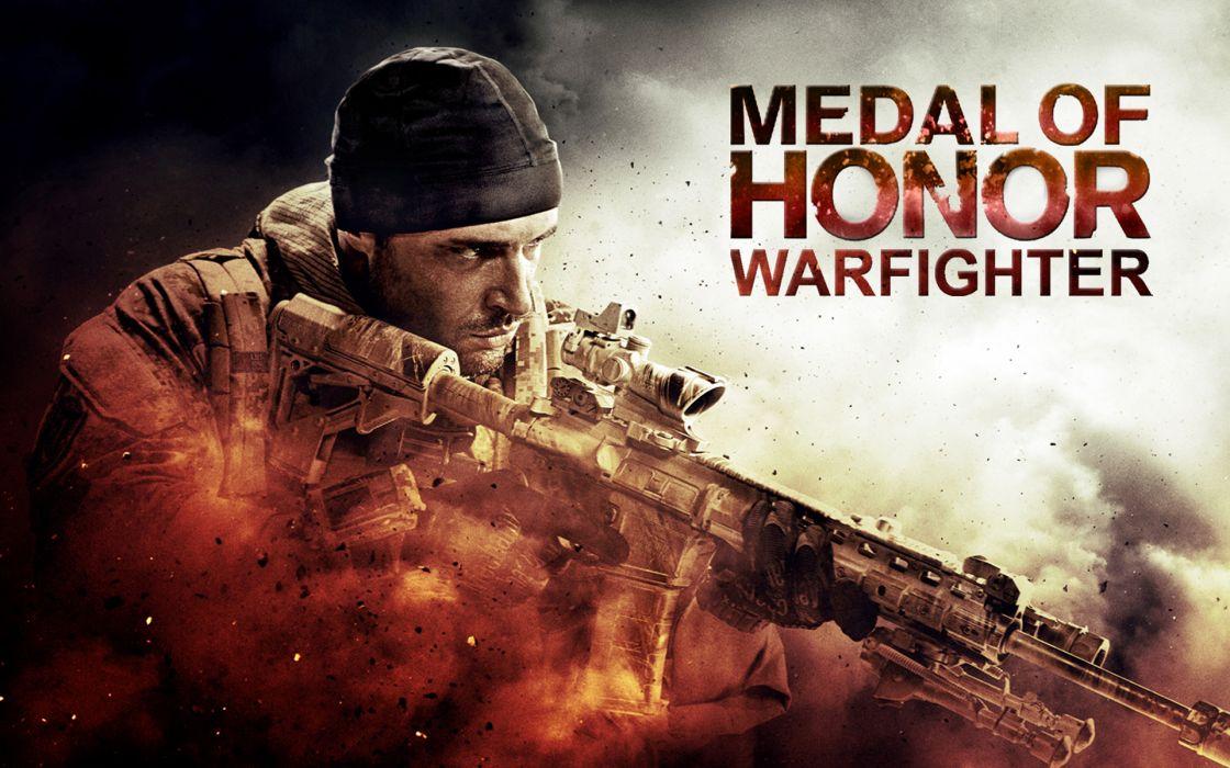 MEDAL OF HONOR warrior soldier weapon gun    h wallpaper