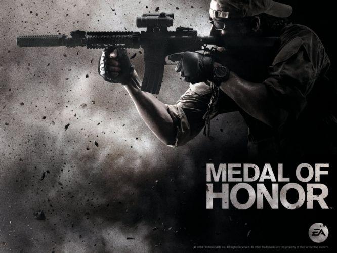 MEDAL OF HONOR warrior soldier weapon gun g wallpaper