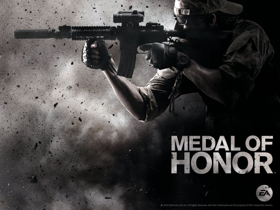 MEDAL OF HONOR warrior soldier weapon gun    g wallpaper