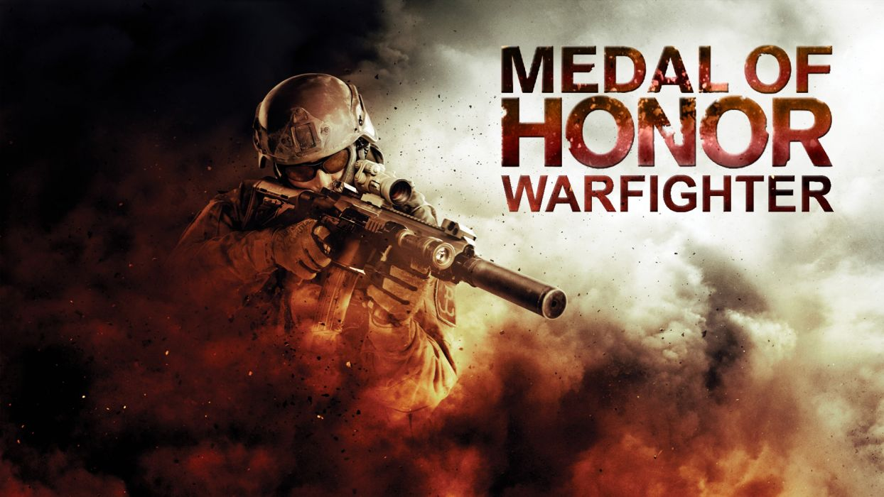 MEDAL OF HONOR warrior soldier weapon gun  b wallpaper