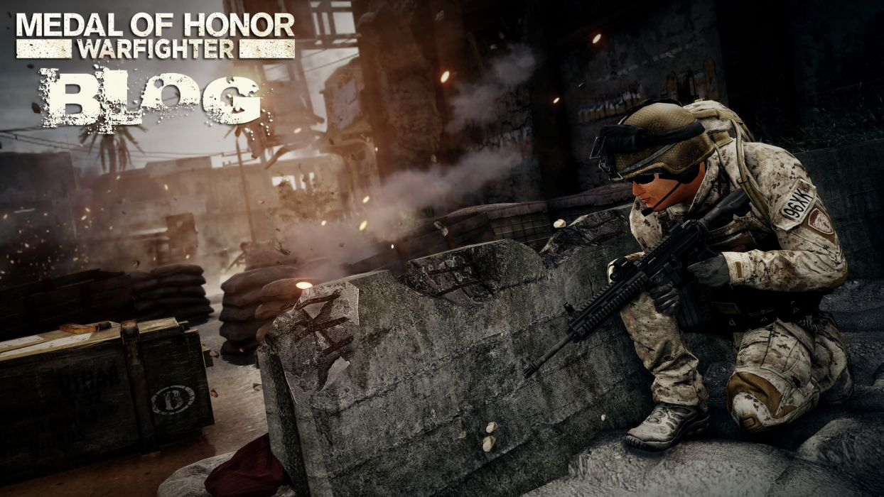 MEDAL OF HONOR warrior soldier weapon gun battle b wallpaper