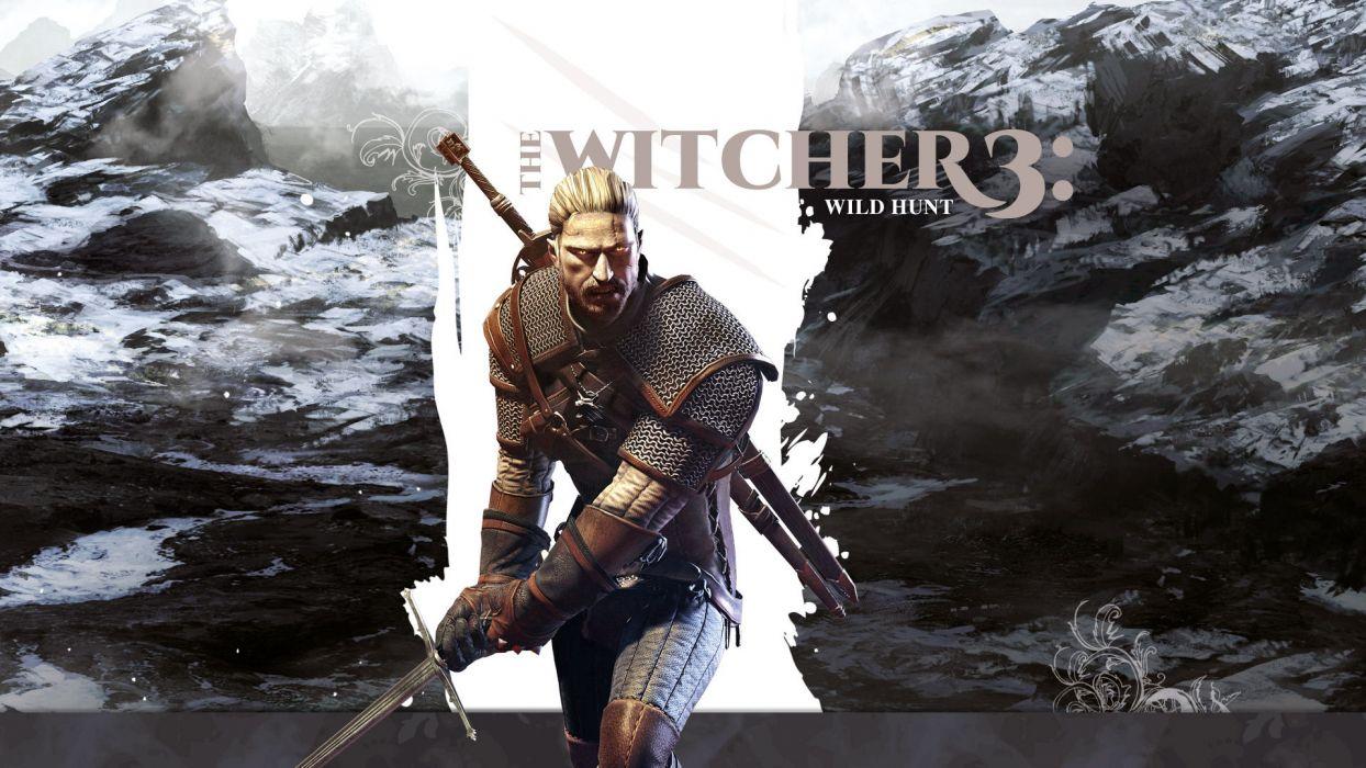 THE WITCHER fantasy warrior   g wallpaper