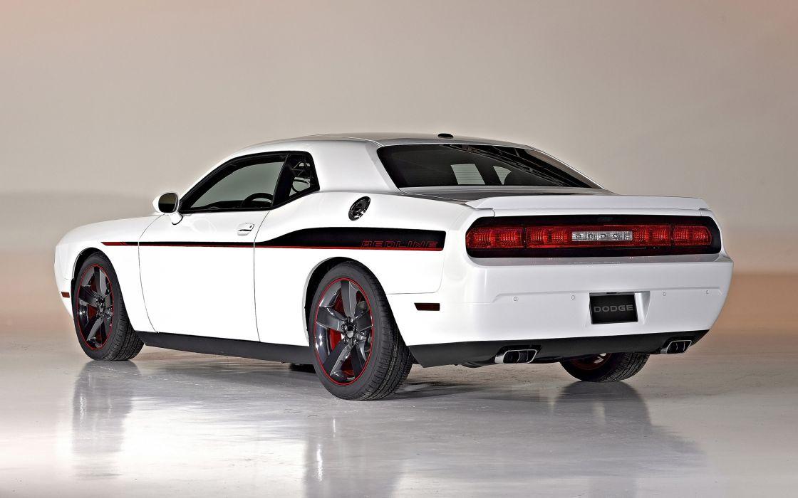 2014 Dodge Challenger R-T Redline muscle      h wallpaper