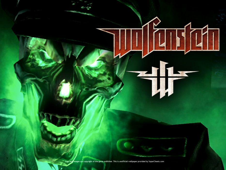 Wolfenstein dark skull           j wallpaper