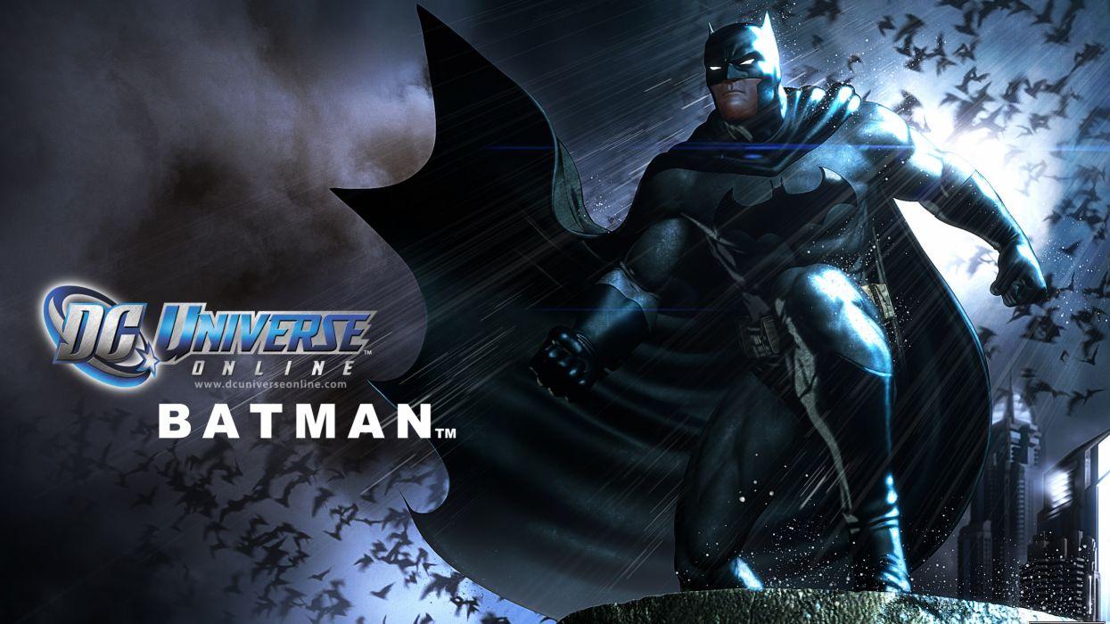 DC UNIVERSE ONLINE d-c superhero comics batman     f wallpaper