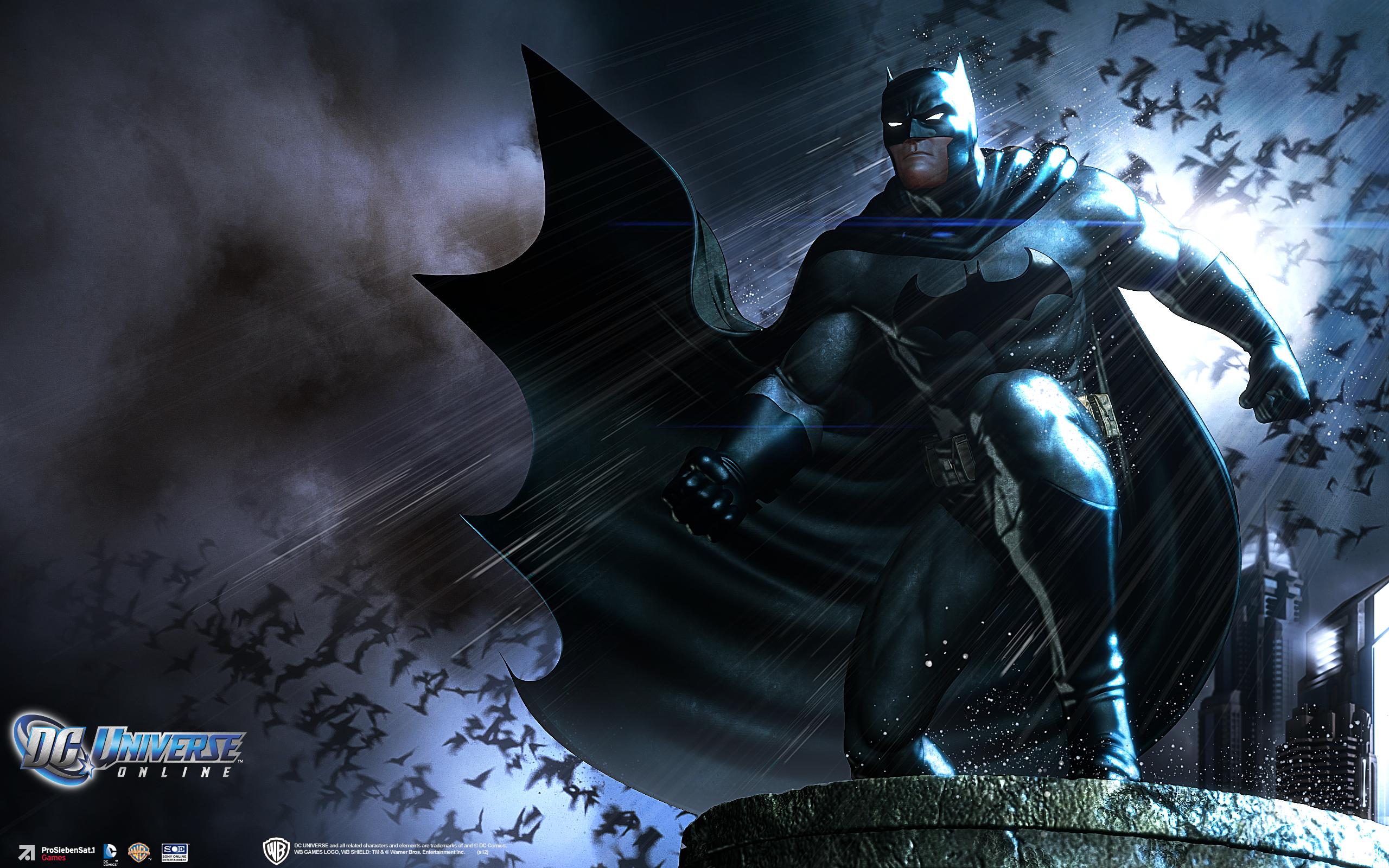 DC UNIVERSE ONLINE D C Superhero Comics Batman Wallpaper
