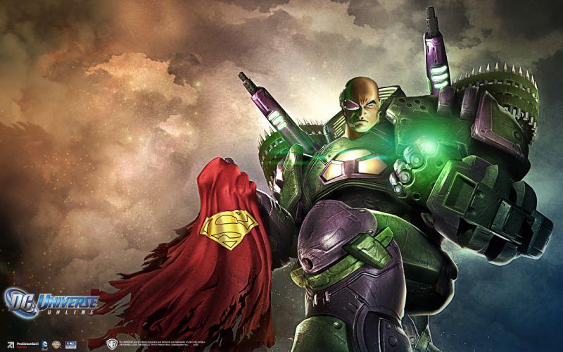 DC UNIVERSE ONLINE d-c superhero comics lex luther superman ff wallpaper
