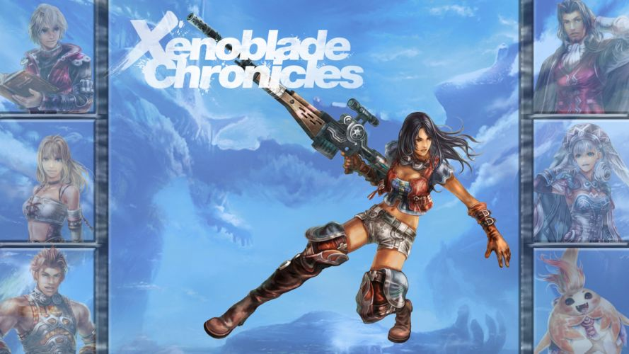 Xenoblade Chronicles anime fantasy f wallpaper