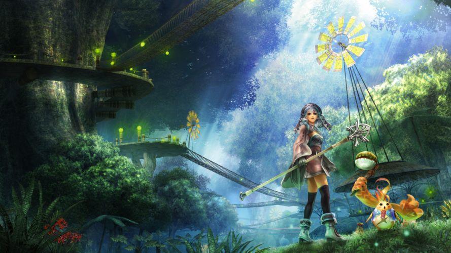 Xenoblade Chronicles anime fantasy wallpaper