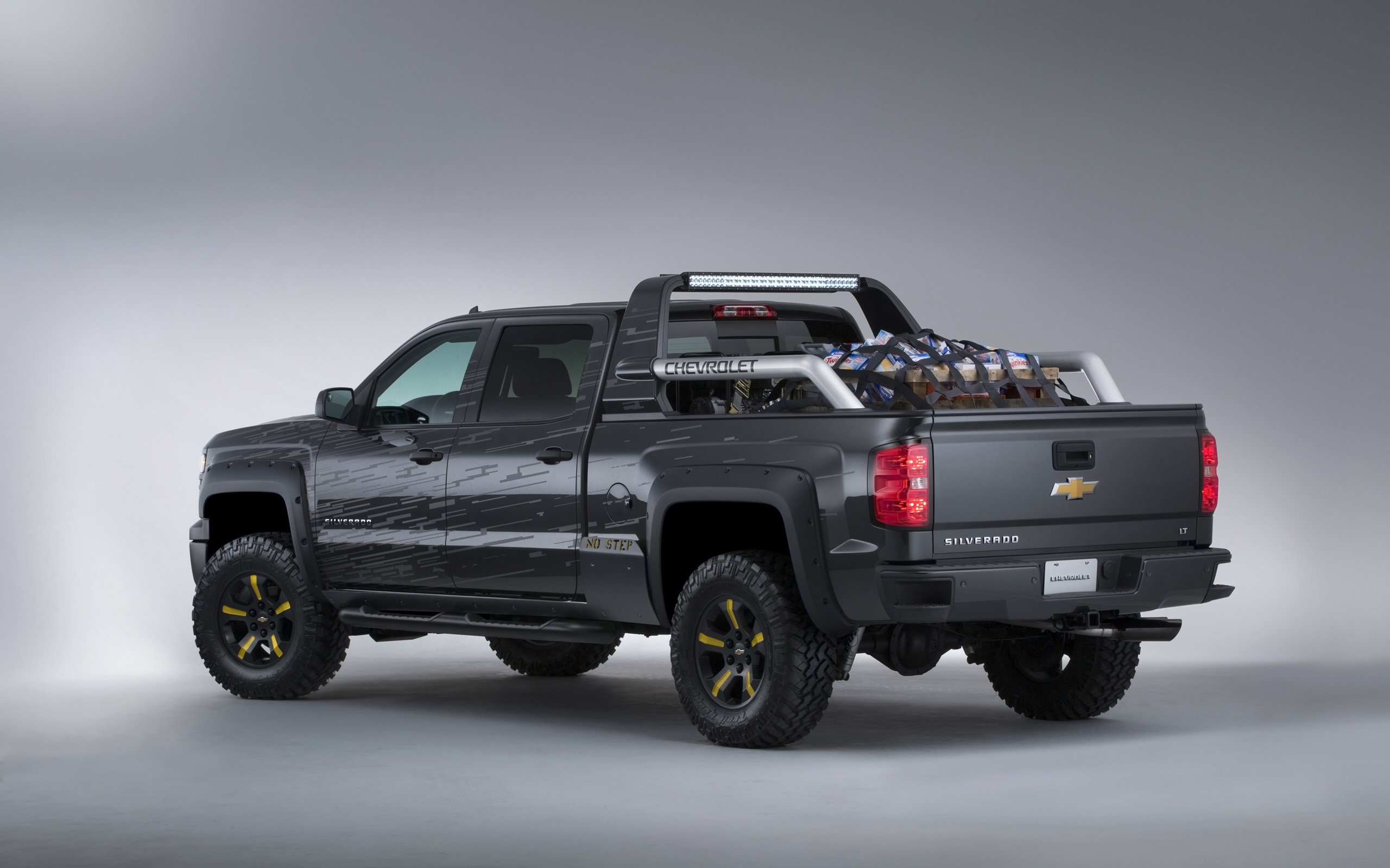2013 chevrolet silverado black ops concept 4x4 pickup wallpaper