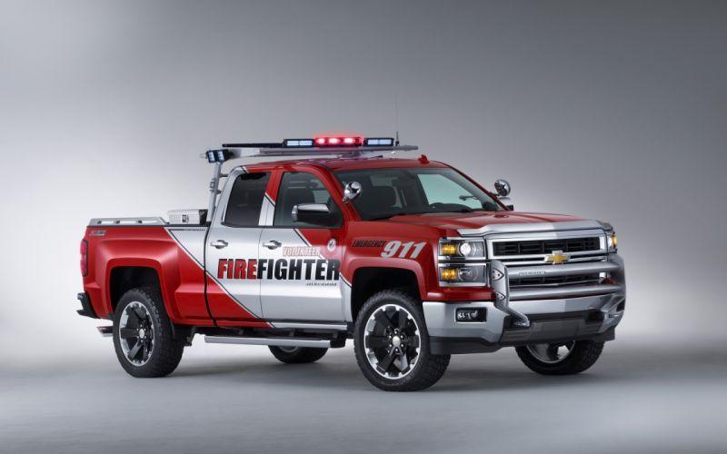 2013 Chevrolet Silverado Volunteer Firefighters Concept firetruck pickup emergency f wallpaper