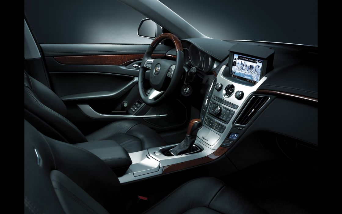 2014 Cadillac CTS Coupe muscle sportcar interior       g wallpaper