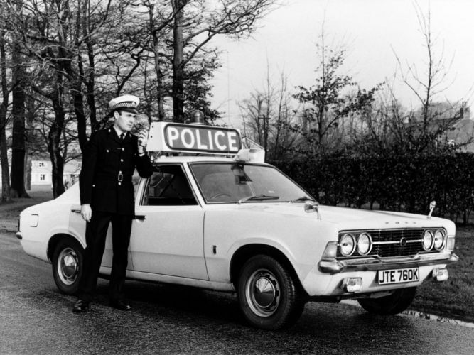 1970 Ford Cortina GT 4-door Saloon Police MkIII classic g-t emergency f wallpaper
