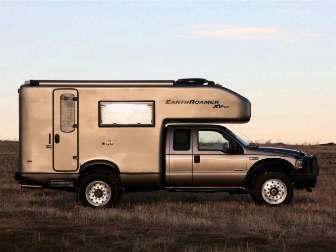2005 EarthRoamer XV-LT Ford F-450 Supercab Lariat pickup camper motorhome f wallpaper