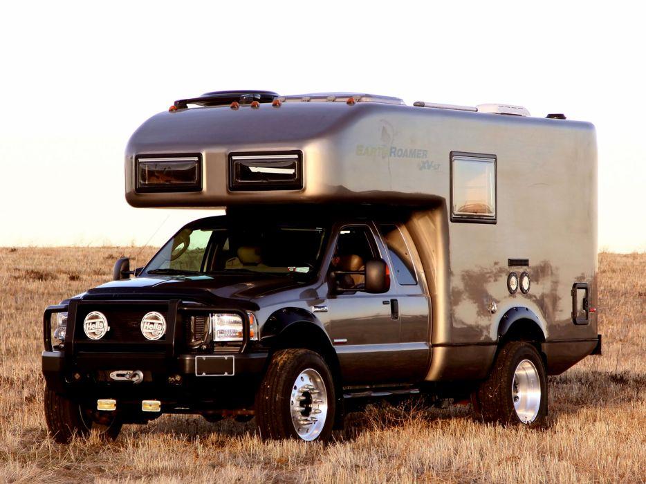 2005 EarthRoamer XV-LT Ford F-450 Supercab Lariat pickup camper motorhome 4x4     f wallpaper
