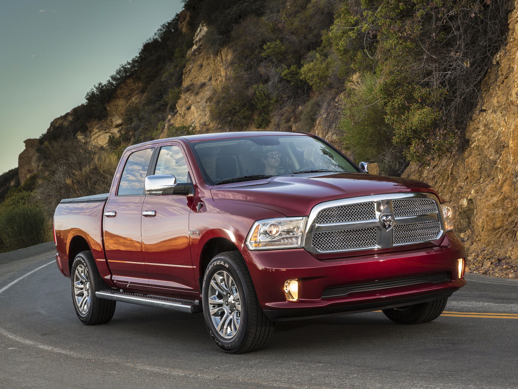 2014 Dodge Ram 1500 Laramie Limited Crew Cab 4x4 pickup f wallpaper