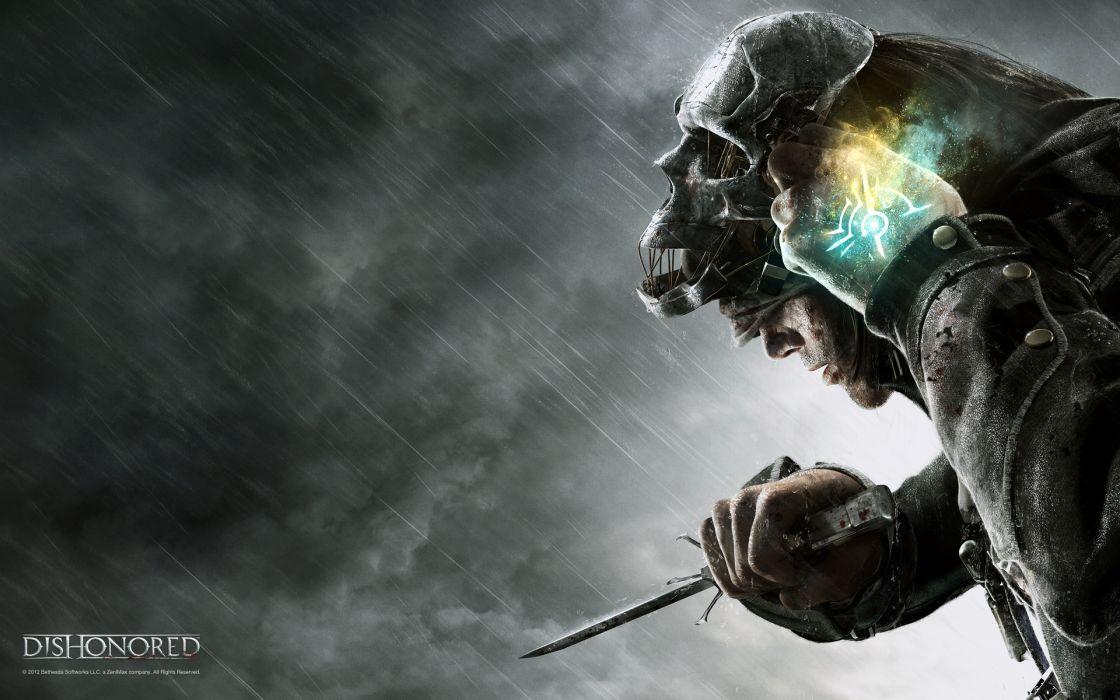 DISHONORED warrior fantasy dark skull   5 wallpaper