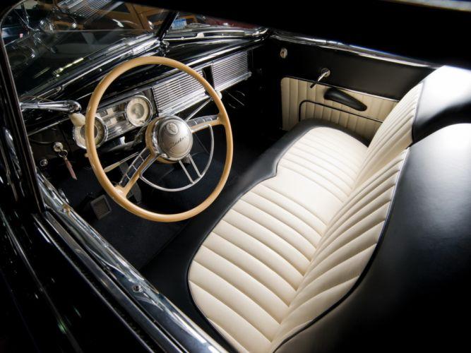 1948 Packard Super Eight Victoria Convertible 2232-2279 luxury retro interior g wallpaper