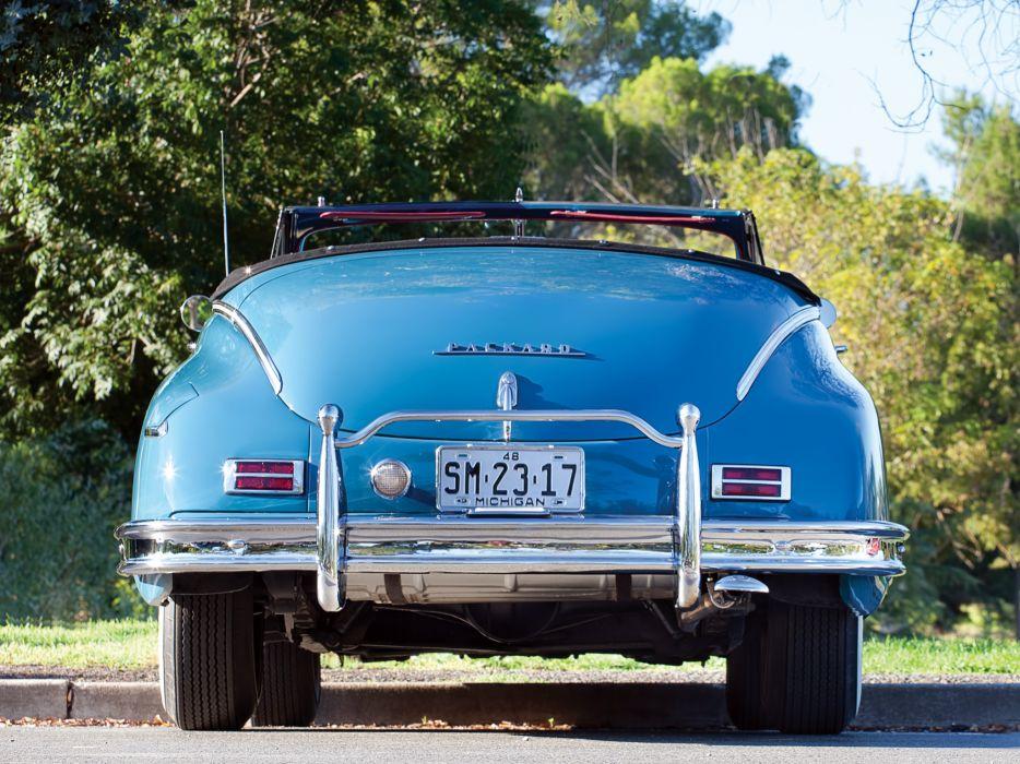 1948 Packard Super Eight Victoria Convertible 2232-2279 luxury retro   f wallpaper