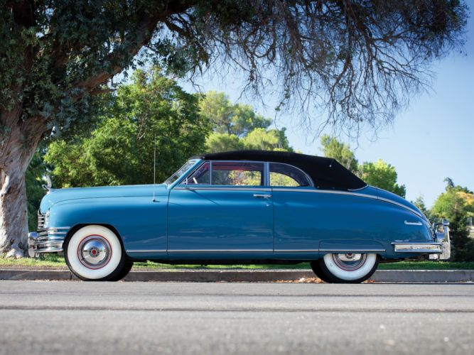 1948 Packard Super Eight Victoria Convertible 2232-2279 luxury retro fw wallpaper