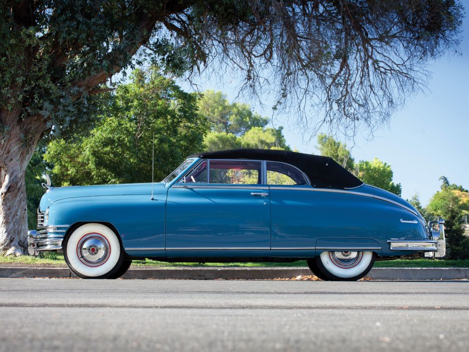 1948 Packard Super Eight Victoria Convertible 2232-2279 luxury retro   fw wallpaper