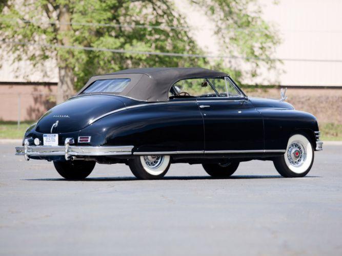 1948 Packard Super Eight Victoria Convertible 2232-2279 luxury retro ge wallpaper