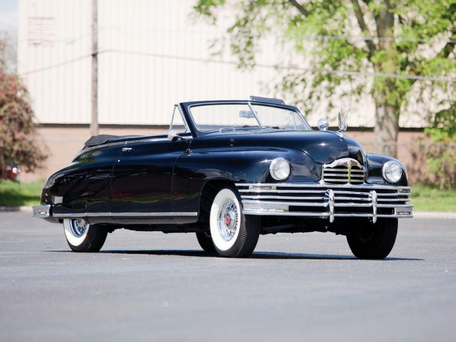 1948 Packard Super Eight Victoria Convertible 2232-2279 luxury retro  fd wallpaper
