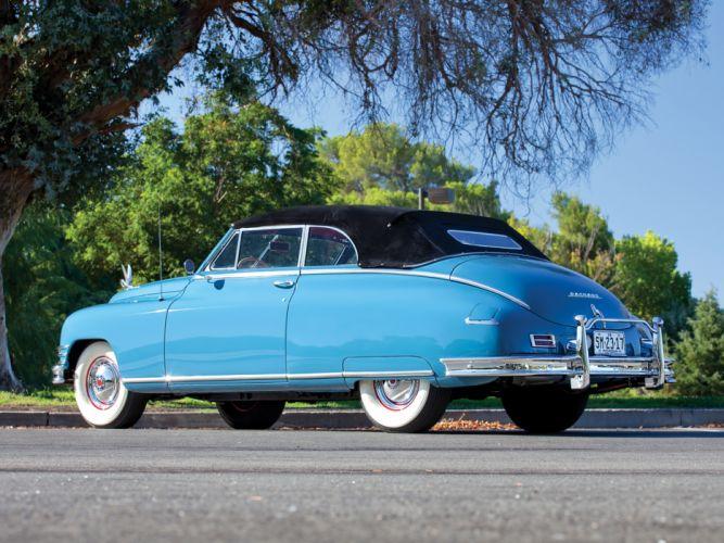 1948 Packard Super Eight Victoria Convertible 2232-2279 luxury retro wallpaper