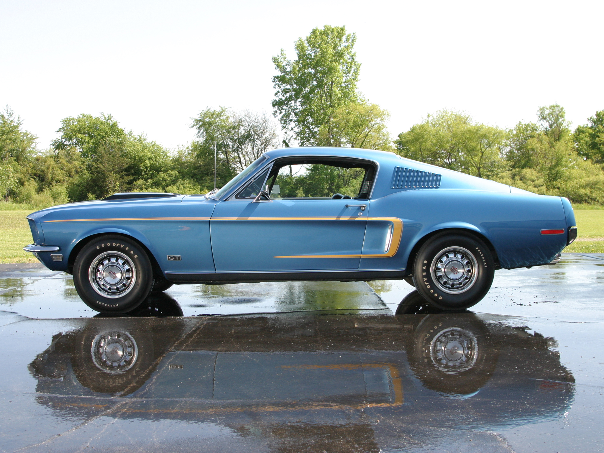 Ford Mustang Gt Cobra Jet Fastback Muscle Classic G T