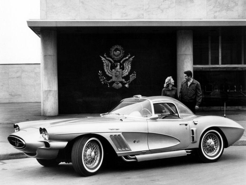 1958 Chevrolet Corvette XP-700 Concept Car supercar muscle retro wallpaper