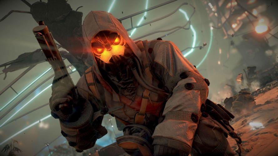 KILLZONE Shadow Fall warrior soldier sci-fi weapon gun g wallpaper