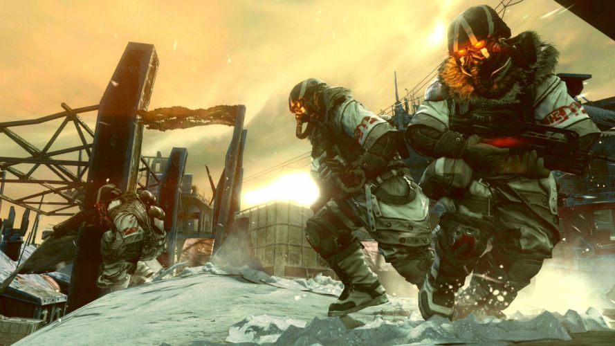 KILLZONE warrior soldier sci-fi ge wallpaper