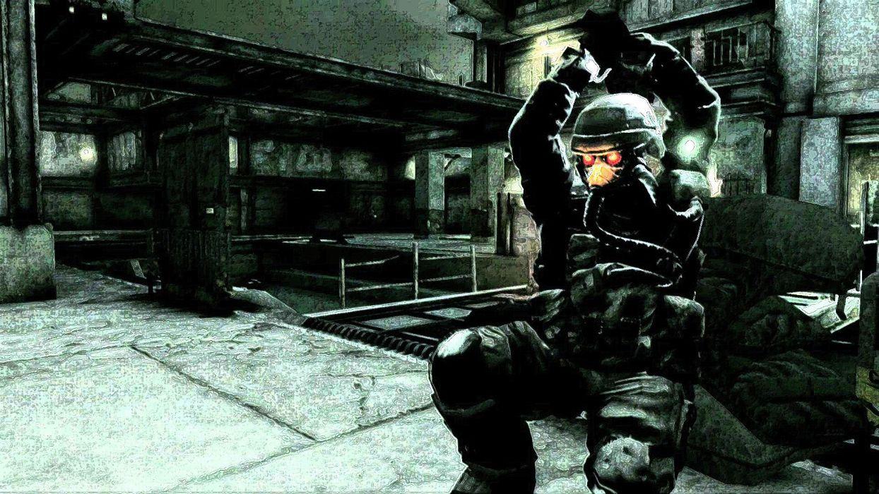KILLZONE warrior soldier sci-fi   g wallpaper