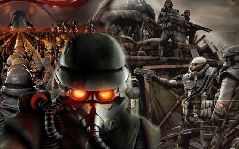 KILLZONE warrior soldier sci-fi m wallpaper