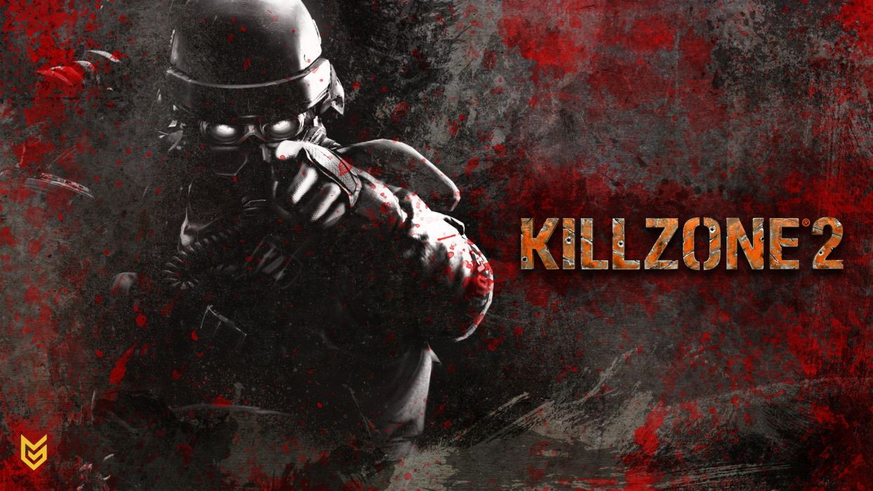 KILLZONE warrior soldier sci-fi gas mask     g wallpaper