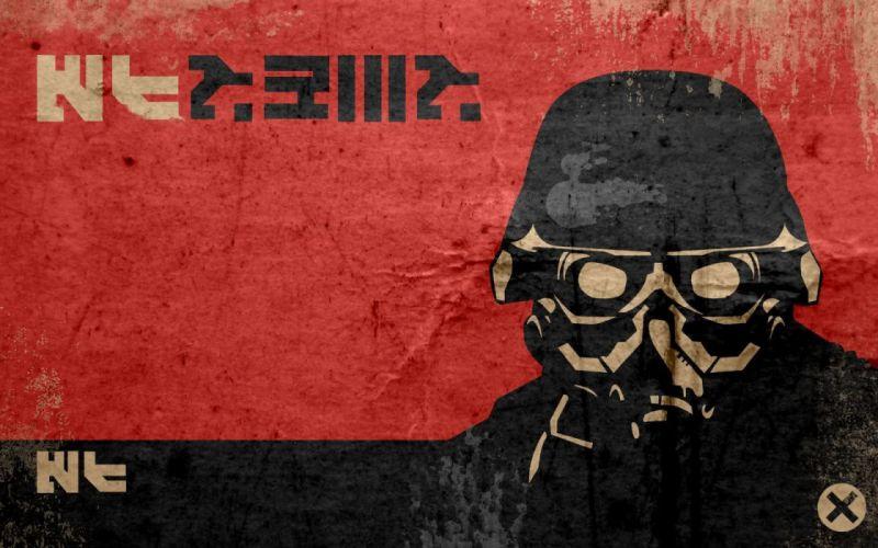 KILLZONE warrior soldier sci-fi gas mask g wallpaper
