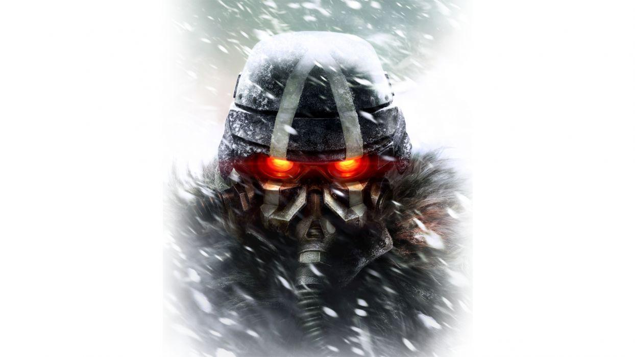KILLZONE warrior soldier sci-fi gas mask  h wallpaper