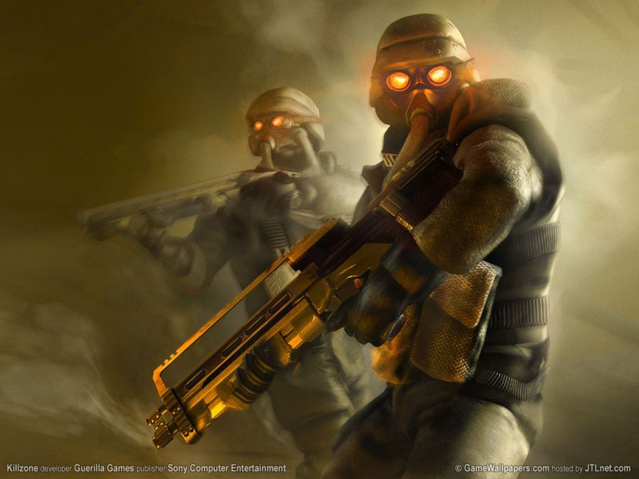KILLZONE warrior soldier sci-fi weapon gun          y wallpaper